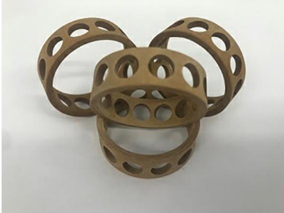 多孔胶木保持架及材料